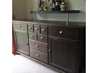 Sideboard, Dining Table, Display Cabinets