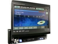 "Alpine IVA D310RB 7"" flip out touchscreen in-car entertainment unit"