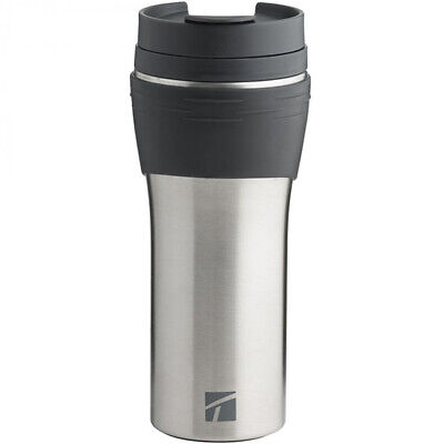 Trudeau Travel Mug (Trudeau Erin Travel Tumbler 16-ounce mug - Charcoal / Inox (NEW))