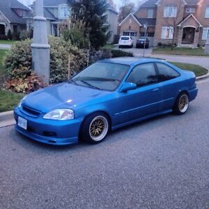 1999 TURBO HONDA CIVIC