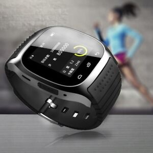 Unisex M26 Smart Wrist Bluetooth Watch Phone For IOS Android