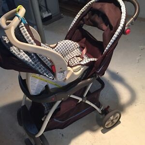 Baby trend travel system & 2 bases