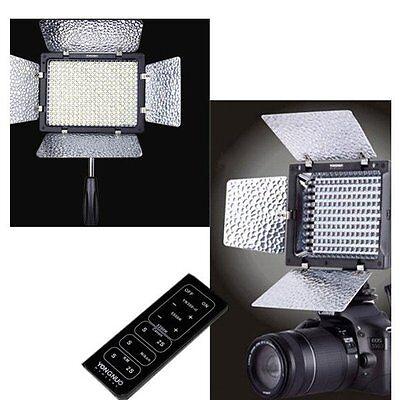 Yongnuo YN300 II Pro LED Video Studio 3200-5500k Light for Canon Nikon Camera UK
