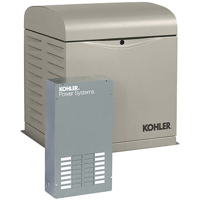 Kohler 8kw Home Standby Generator System 100a 12-circuit Automatic Switch