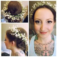 Pro Makeup Artist and Hair Stylist for Hire for you Wedding .