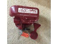 Caravan Alko hitch lock
