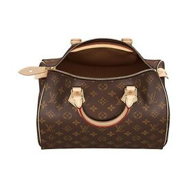 ** LOUIS VUITTON LV SPEEDY WOMEN'S HANDBAGS WITH STRAP **