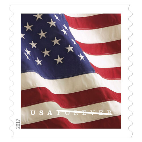 USPS New US Flag 2017 coil of 100