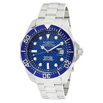 Invicta Men's Pro Diver Analog Quartz 200m Stainless Steel Watch 12563