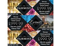 BANQUET VENUE DEAL £999.00 BRADFORD