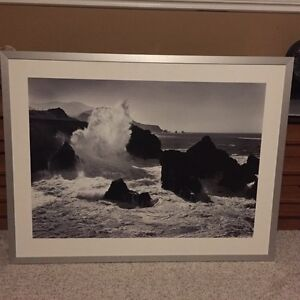 Large Black and white IKEA picture