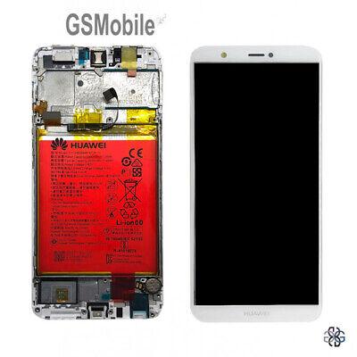Pantalla Completa LCD Tactil Marco Frame Bateria Huawei P Smart FIG-L31 ORIGINAL