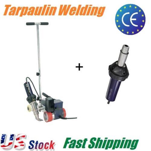 Weldy 40mm Hot Air Plastic Welder,Thick Tarpaulin Banner Welding Roofing Machine