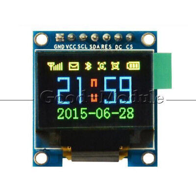 0.95 Inch Spi Full Color Oled Display Module Ssd1331 96x64 Lcd For Arduino New