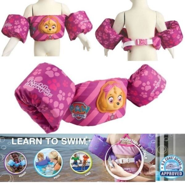 BNWT: Stearns® Puddle Jumper® Deluxe 3D Life Jacket - Paw Patrol - Skye