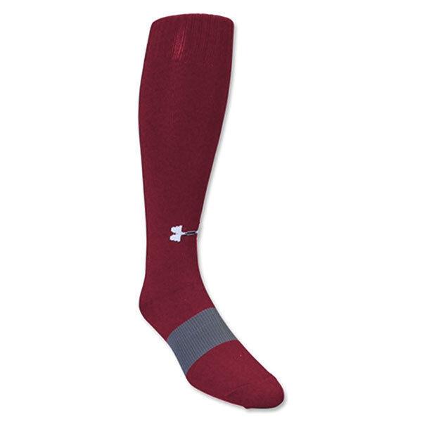 Under Armour UA Solid Men's OTC Soccer Socks- 1264790-625 Si