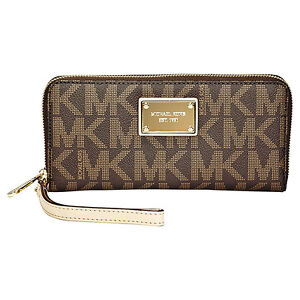 Michael-Kors-Large-Hamilton-Saffiano-Leather-Zip-Around-Wallet-in-Brown