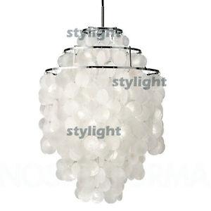 Modern Shell Pendant Light