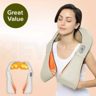 Electric Kneading Neck Shoulder Arm Body Massager With Heat