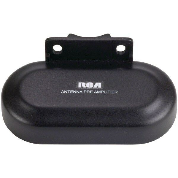 RCA TVPRAMP12E Outdoor UHF/VHF TV Antenna Preamplifier/Signal Booster