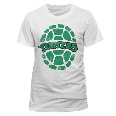 TMNT Teenage Mutant Ninja Turtles Shell Panzer Logo Classic T-Shirt Männer Mens ()