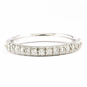 14k White Gold Diamond Wedding Band (0.25 tdw) 3634
