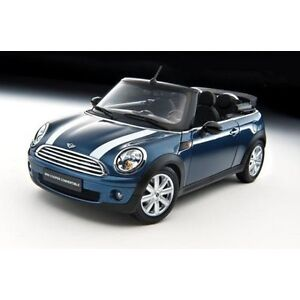1/18 DIECAST KYOSHO MINI COOPER CONVERTABLE BLUE NEW