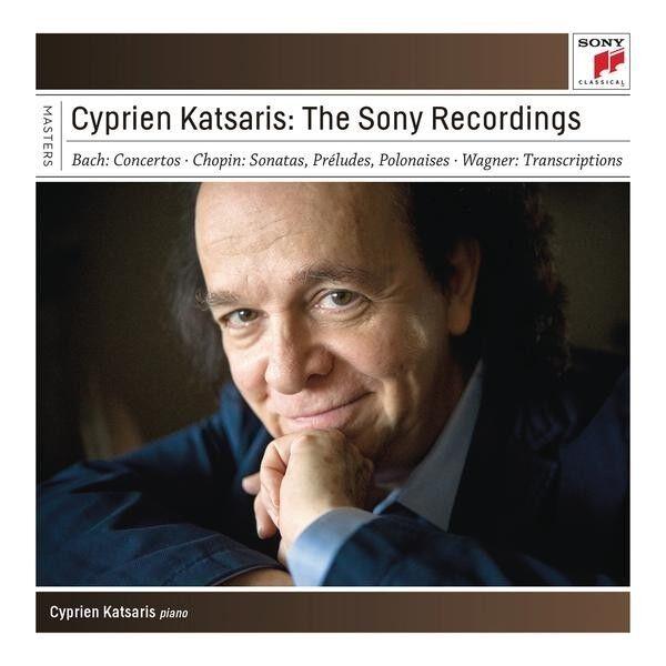 CYPRIEN KATSARIS - THE SONY RECORDINGS 7 CD NEU BACH/CHOPIN/WAGNER