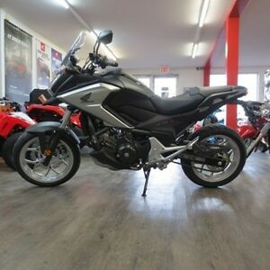 2017 Honda NC750X Adventure bike