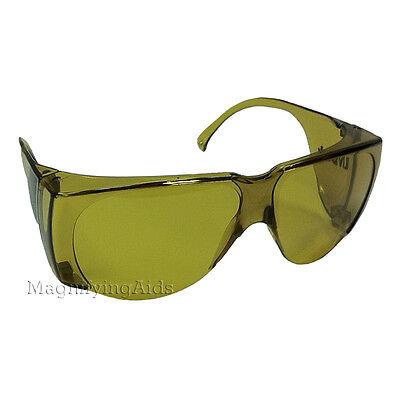 NoIR N53 UV Shield Glasses - Dark Yellow, Low Glare, UV Protection, (Noir Uv Shield Glasses)