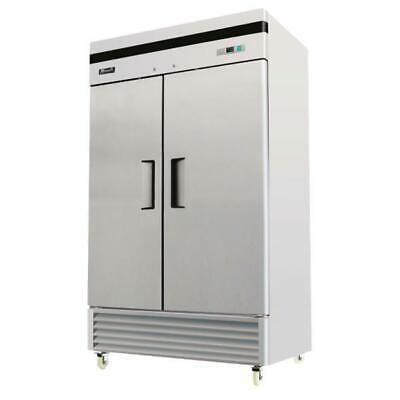 2 Door Slim Freezer Stainless Steel Migali C-2fb-35-hc New 9619 Commercial Nsf