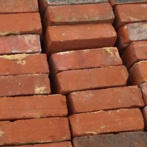HUGE AMOUNT OF RED BRICKS & FIRE BRICKS