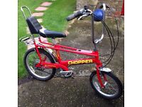 Raleigh chopper. Retro classic great gift for young or old child dad!!vw shows