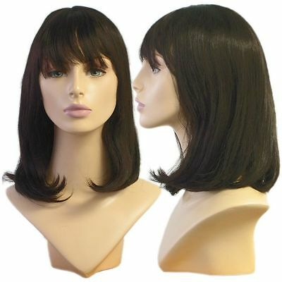 WG-063 Dark Brunette Alley Wig (Halloween/Party/Costume/Cosplay) Wig - Halloween Wg Party