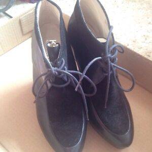Michael Kors wedge booties (Size 10)