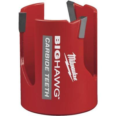 10 Pk Milwaukee High-performance Big Hawg 2-18 In. Dia. Carbide-tipped Hole Saw