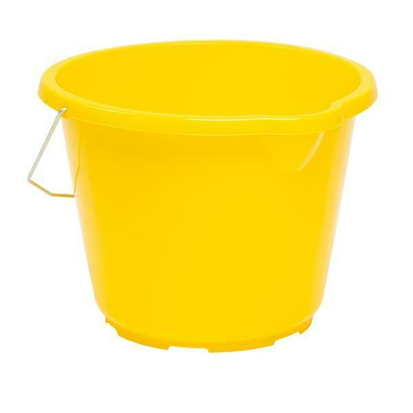 Wham 16826 10L General Purpose Bucket, Yellow