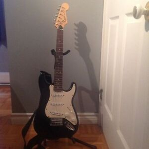 Fender mini Strat Guitar and Amp