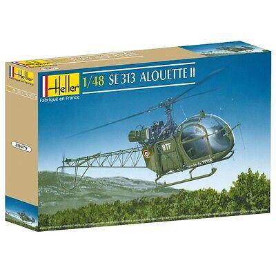 Heller SE 313 Alouette II Modell-Bausatz 1:48 NEU OVP Tipp Hubschrauber Heli kit