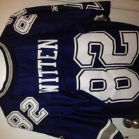 Dallas Cowboys Large Mike Witten Jersey