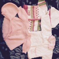 EUC, lots of GIRLS clothing 0-6 MOS. all BRAND name, shoes too!