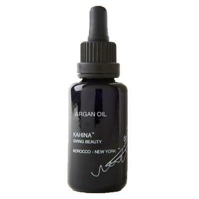 KAHINA ARGAN OIL 30ml RRP £35 MOROCCAN CERTIFIED COLD PRESSED GIVING BEAUTY