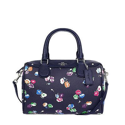 Nwt Coach Wildflower Bennett  Satchel Handbag In Rainbow Multi F 37491  295