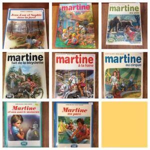 Plusieurs livres de MARTINE
