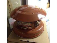 Back 50130: YBS Chimney Birdguard Aluminium & Stainless Steel 240 x 310mm