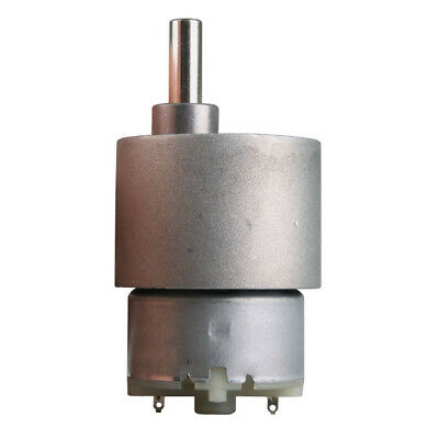 Dc 12v 30 Rpm 37mm Electric Mini Gearbox Motor F. Hobby