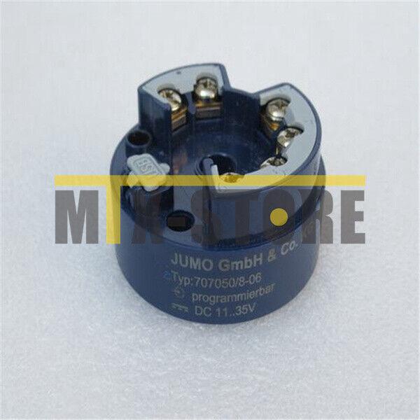 1PCS New JUMO Temperature Transmitter 707050/8-06