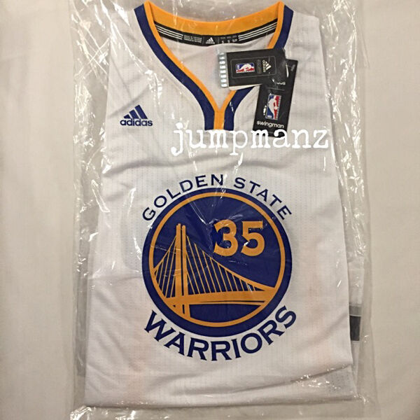 Golden state warriors kevin durant 35 nba adidas swingman jersey