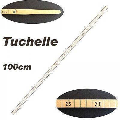 Tuchelle 100cm - Stoffelle Holzelle Schneiderelle Stockmeter - NEUWARE