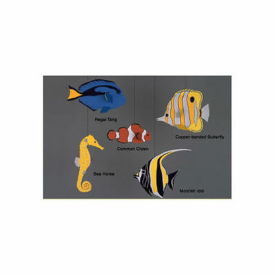 Skyflight Tropical Fish Animal Hanging Baby Mobile Educational Classroom - Fish Mobile